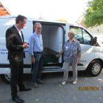 Lidl Pressemitteilung zur Übergabe des neuen Kühlfahrzeugs